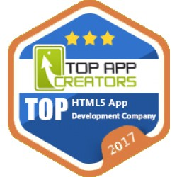 We are TOP 10 HTML5 Developer company on march 2017